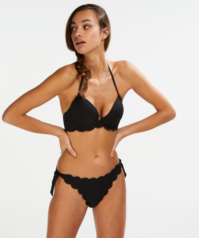 Haut de Bikini sans Bretelles Push-up /à Armatures Macrame Taille A E